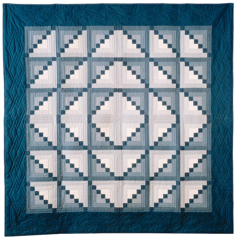 Log Cabin Quilt Template By Quilting From The Heartland