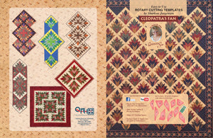 cleopatra pan instruction book by quilting from the heartland