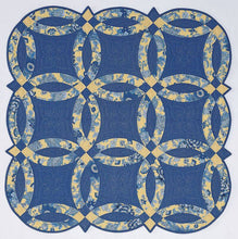 Double Wedding Ring Acrylic Quilt Template By Quilting