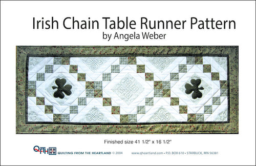 irish chain table runner quilt