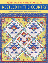 Nestled in the Country book cover from Quilting in the Heartland