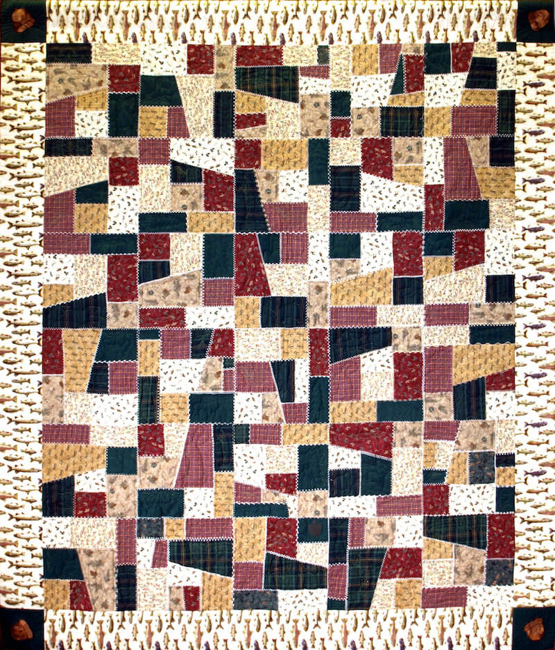 Crazy Quilt Quilt Template By Quilting From The Heartland