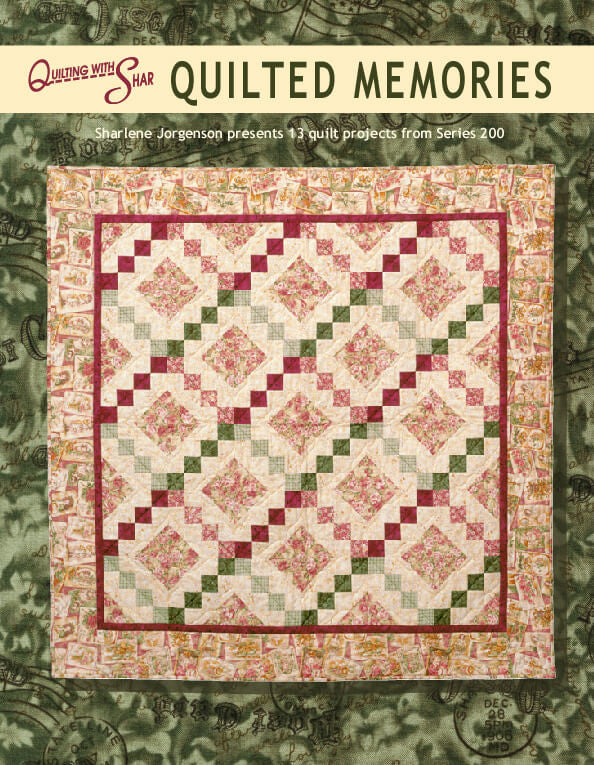 cover image of Quilted Memories book
