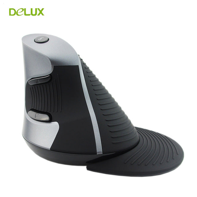 ergonomic desktop laptop vertical laser mouse