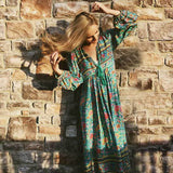 Long Sleeve Weekend Dress boho
