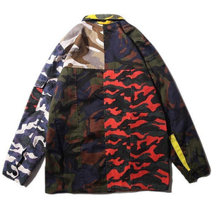 Patch-Camo military Utility Jacket