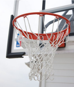 spalding 54 inch acrylic or polycarbonate backboard basketball hoop system