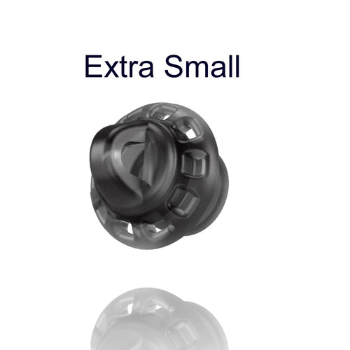 Wax Domes - Open / Extra Small / Pack of 10 Domes