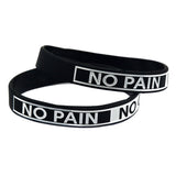 Lot de 3 Bracelets No Pain No Gain