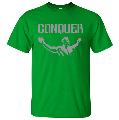 T-Shirt CONQUER homme