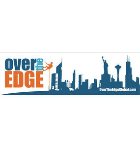 Over the Edge Bumper Stickers - White
