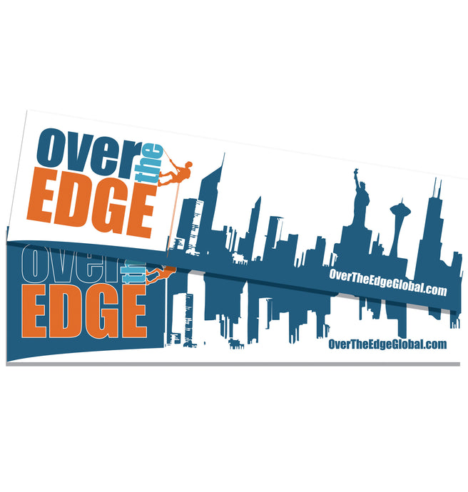 Over the Edge Bumper Stickers