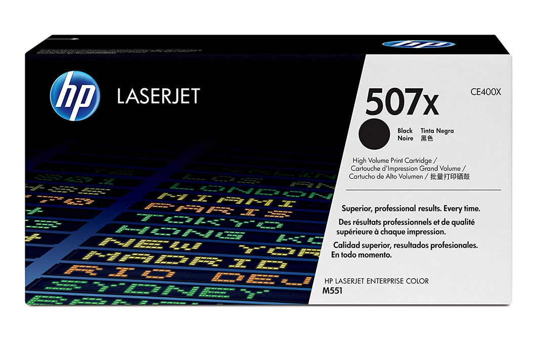TONER CARTRIDGE 507X BLACK