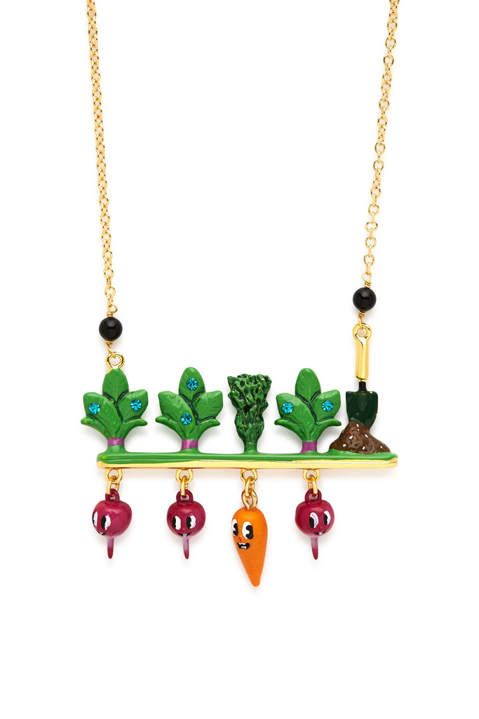 Planted Veggies Necklace