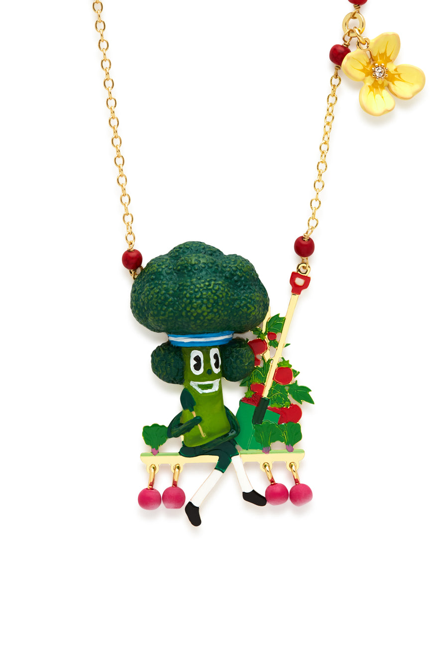 Brocolli Necklace