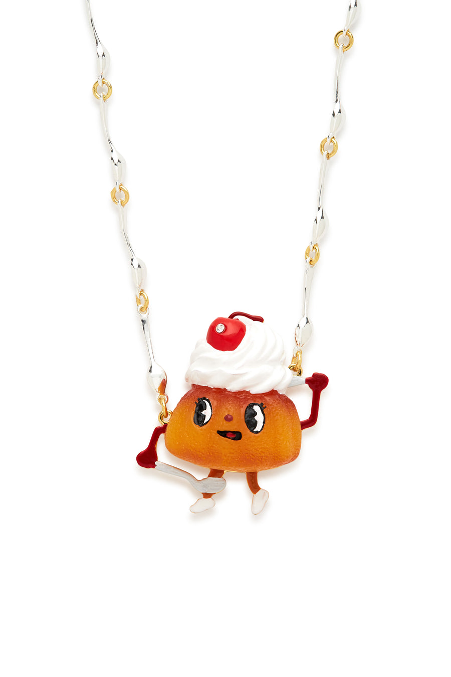 Cherry Pastry Necklace
