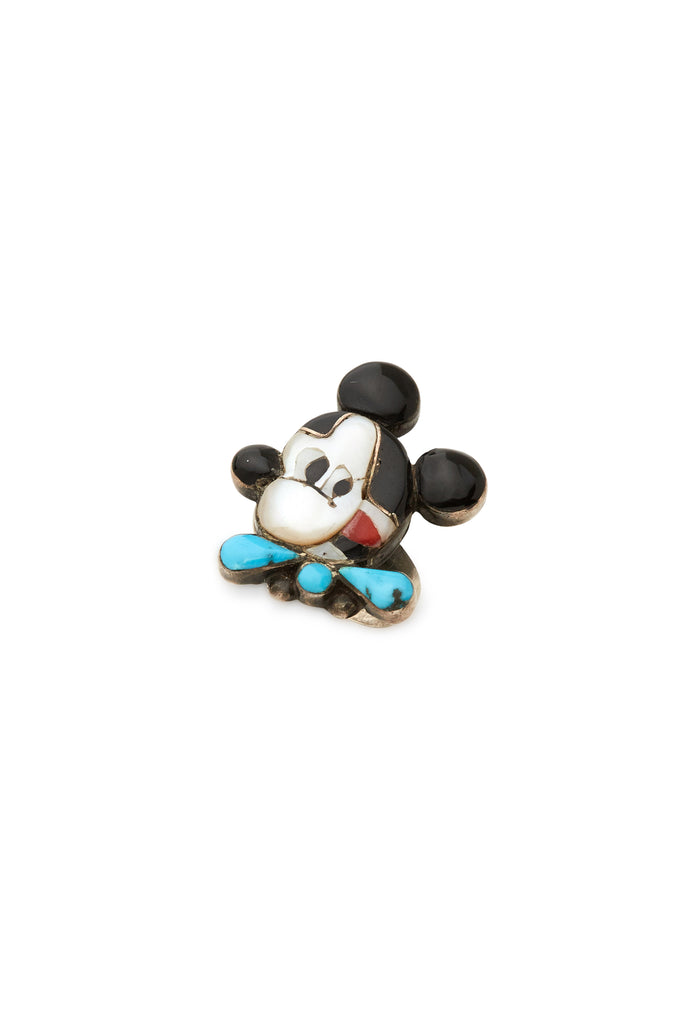Sterling Silver Mickey Ring