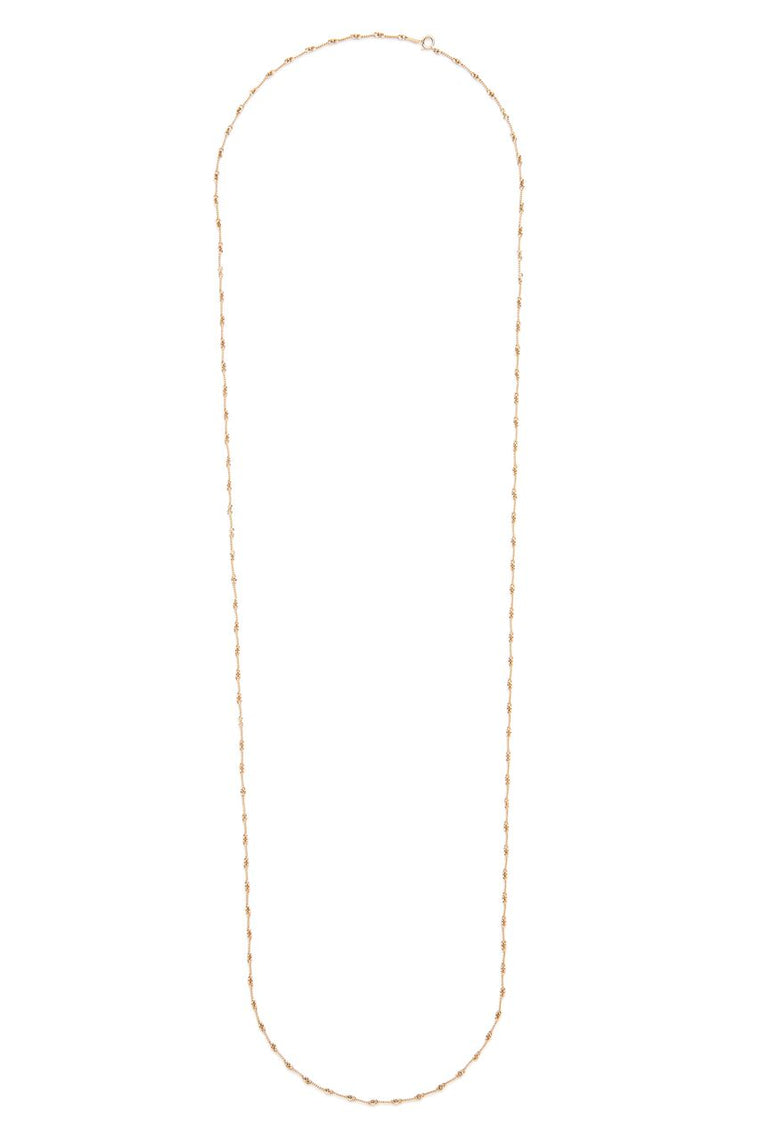 18K Gold Screw Chain Necklace
