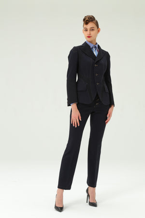 Classic Tailored Jacket in Navy