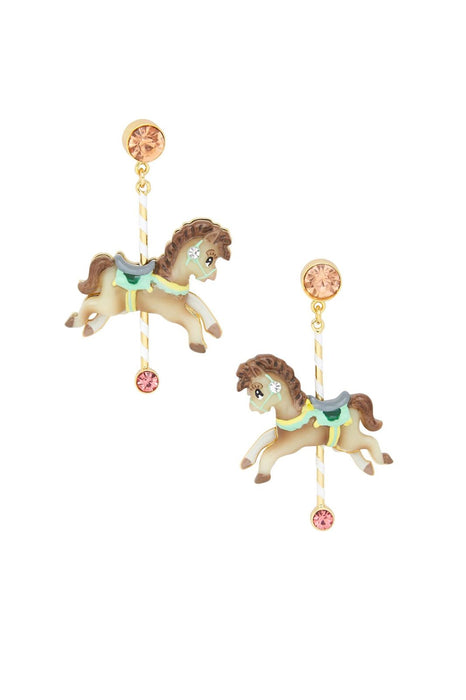 Carousel Horse Earrings