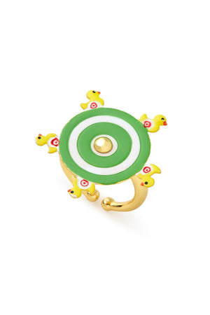 Duck Pond Spin Wheel Ring