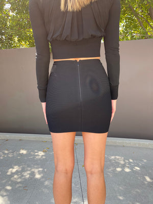 Short Skirt in Black
