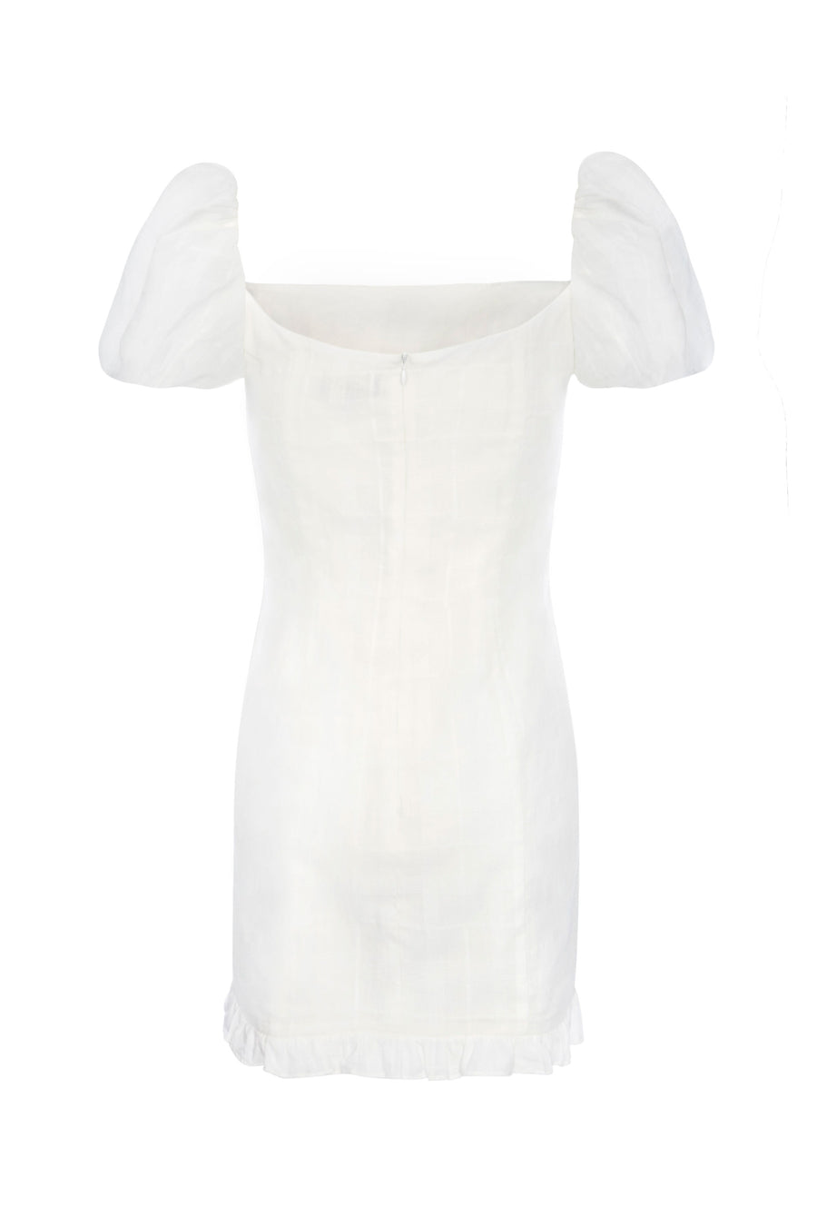 Koko Cotton Mini Dress in White