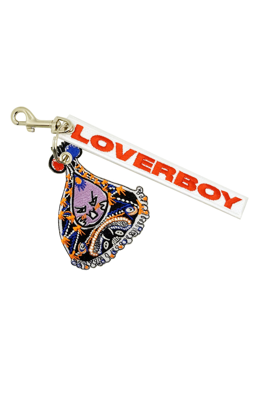 Loverboy Embroidered Dander Keyring