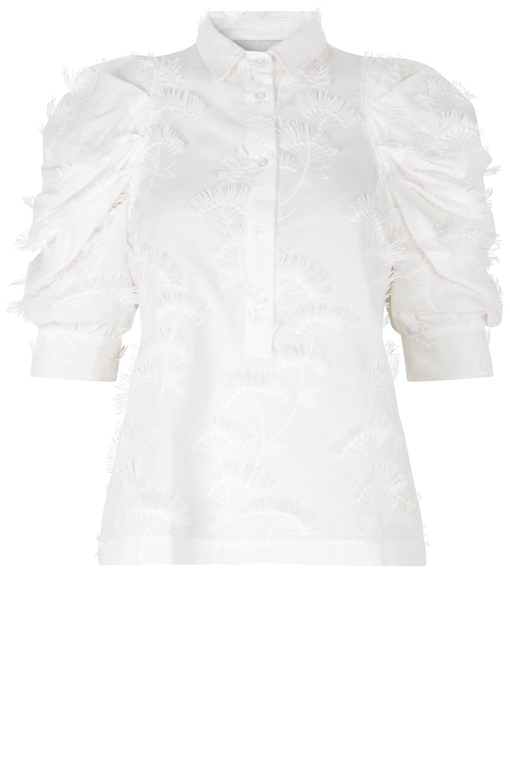MUNTHE TEMPLE TOP WHITE