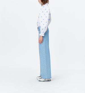 MUNTHE TOSCA TOP IN BLUE