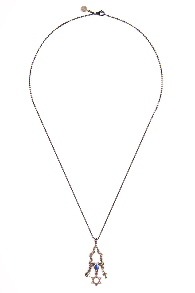 Sterling Silver Ondine Necklace