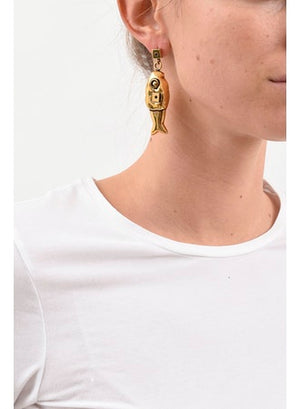 Marni Fish Earrings