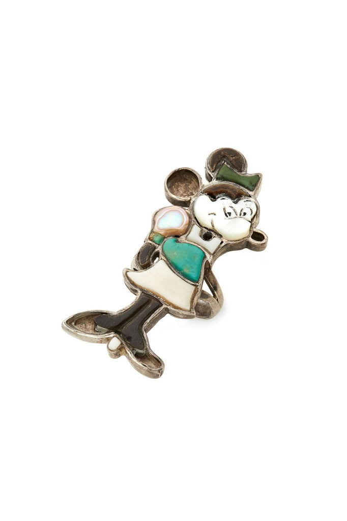 Carol Kee Sterling Silver Vintage Minnie Ring