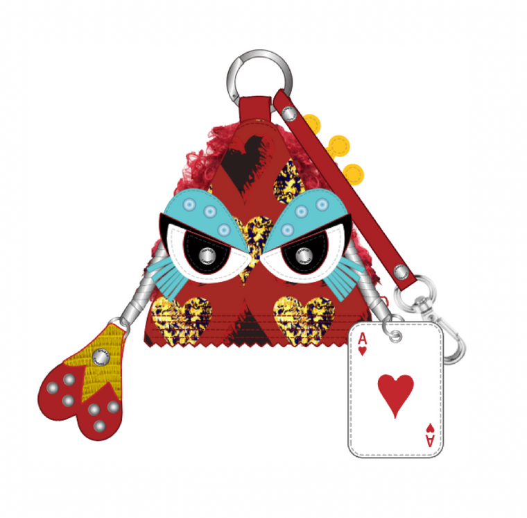 Maison Promax Queen of Hearts Charm
