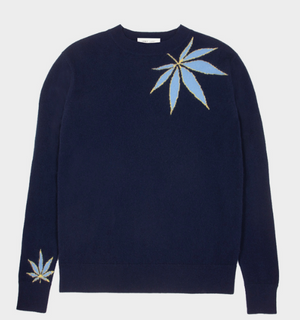 No 21 Cashmere Sweater in Navy