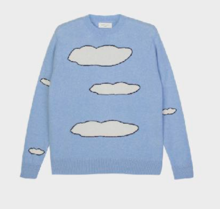 No 1 Cashmere Sweater in Light Blue