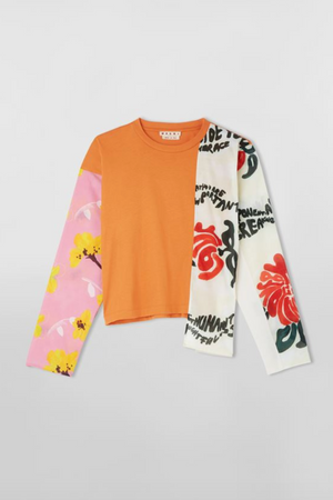 MARNI Long Sleeve Crewneck T-Shirt