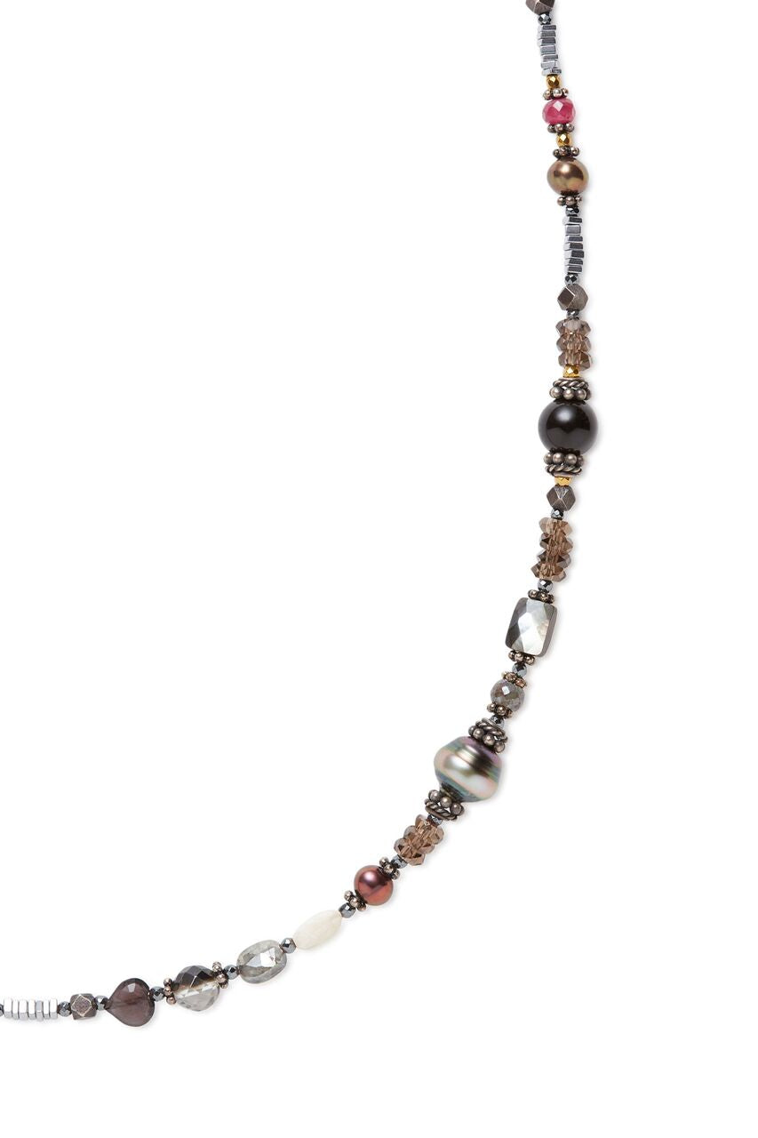 Crystal Bead Stardust Necklace