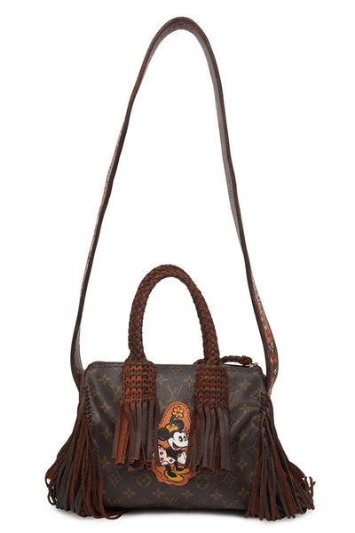 "Vintage Monogram LV Speedy 25 ""Minnie"" with Fringe Bag"