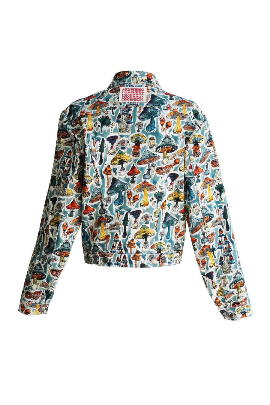 Art Denim Jacket