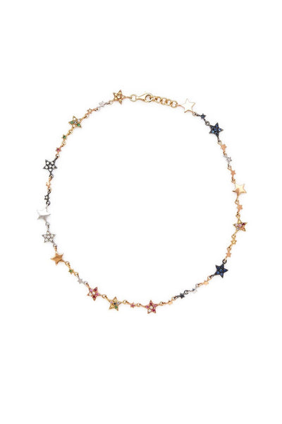 18K Superstellar Star Choker Necklace