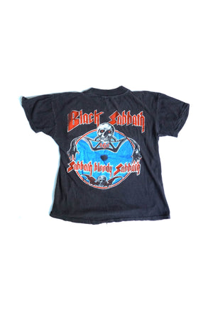 Black Black Sabbath Tour Vintage Tee