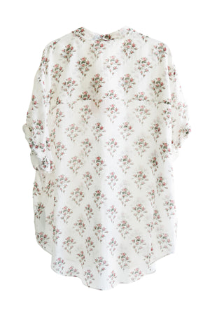 Ladies Woven Shirt Rosaio in Floral Print