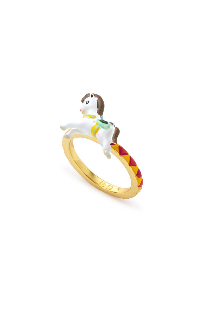Horse and Carousel Ring Set