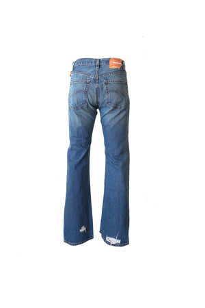 Joni Mid Rise Jean in Dark Blue Wash