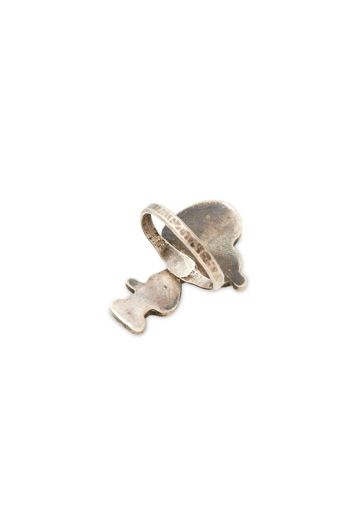Sterling Silver Snoopy Ring