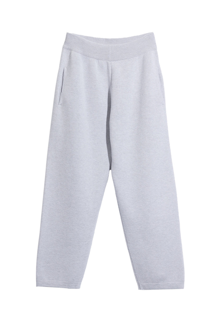 Cashmere Sportswear Jogging Bottoms in Grey Calcite