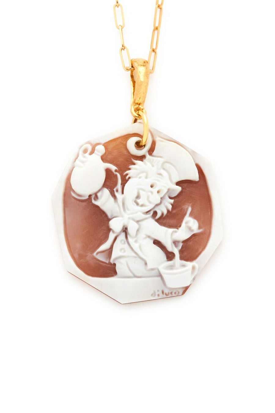 Mad Hatter Cameo Pendant