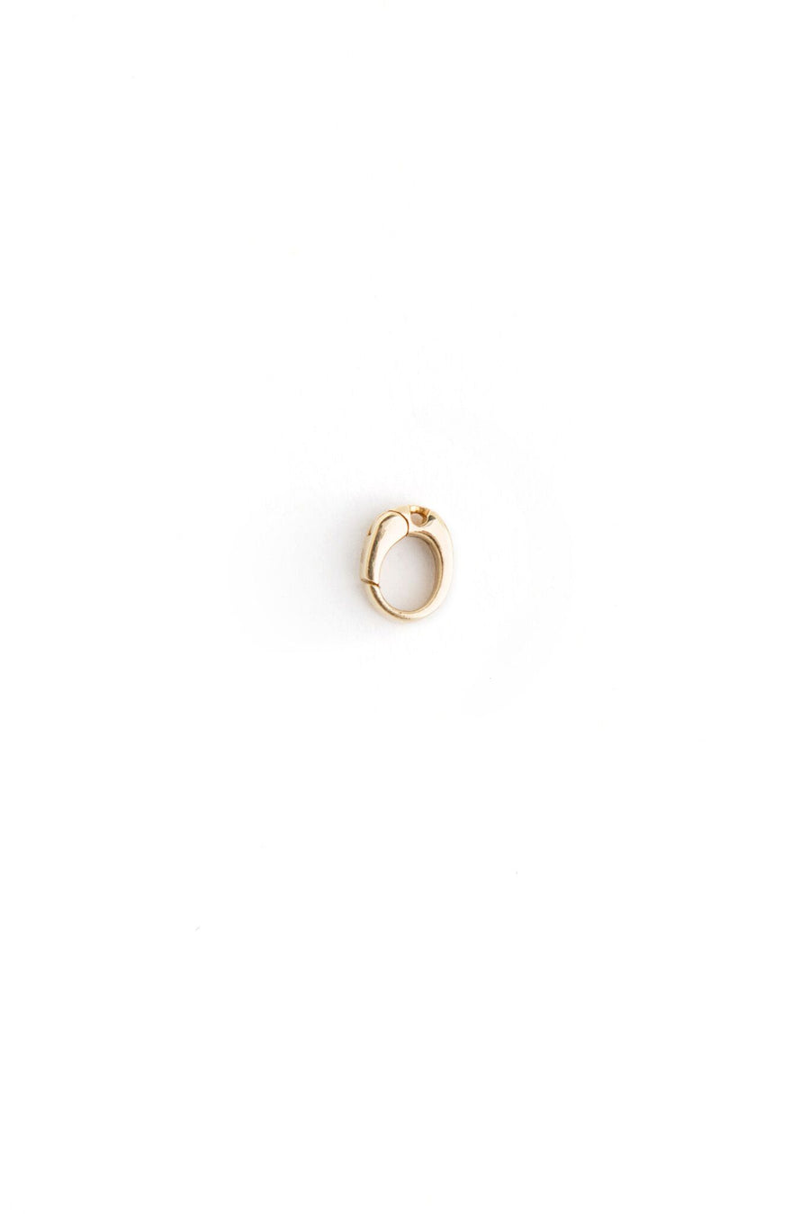 18K Yellow Gold Single Hinged Adaptor for Charm