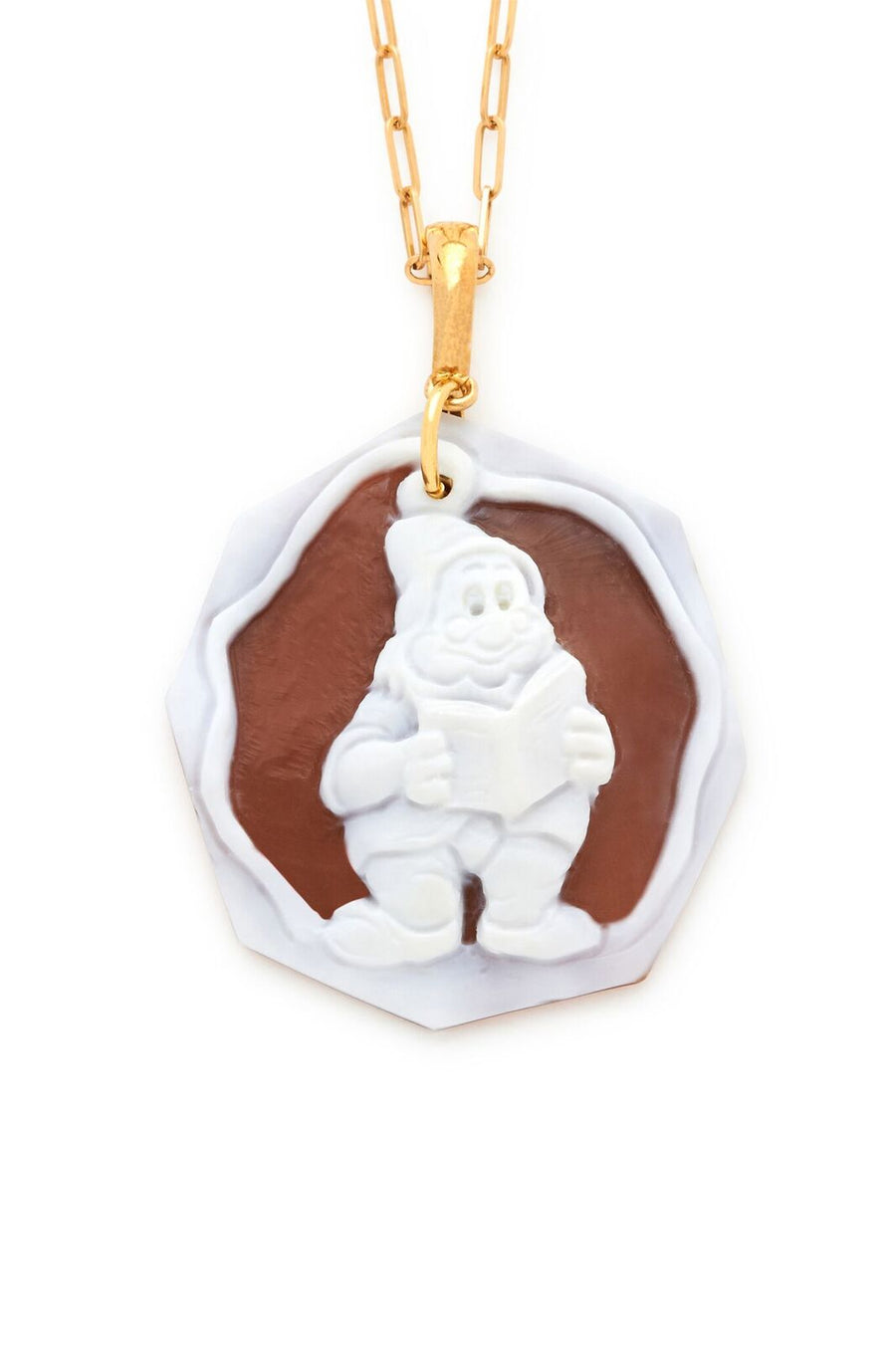 Doc of the Seven Dwarfs Cameo Pendant